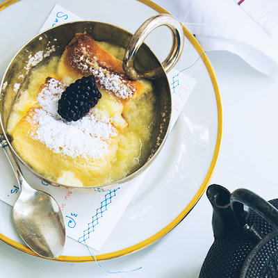 Lemon-Soufflé Pudding Cake