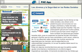Screenshot of PAE