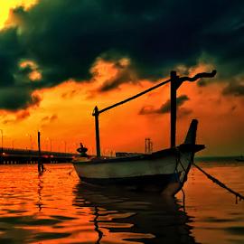 twilight by Sam Hidayat - Instagram & Mobile Android ( suramadu, jembatan )