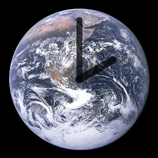 Blue Marble Clock LOGO-APP點子