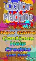 Screenshot of Color Machine Free