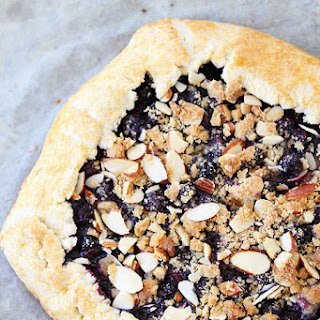 Blueberry Almond Streusel Galette