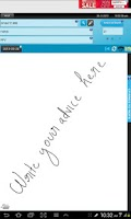 Screenshot of Doctor's Writing App Free