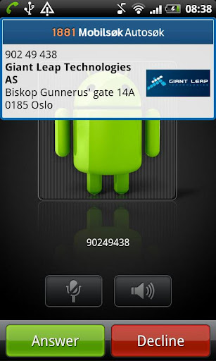 1881-mobilsøk for android screenshot