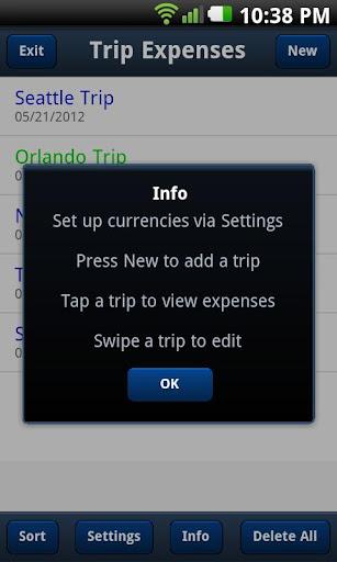 Trip Expenses Free