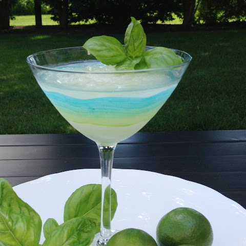 Basil Lime Martini