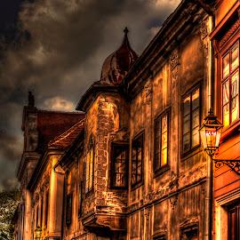 Old palace by Hrvoje Kunović - Buildings & Architecture Public & Historical ( upper, old, town, zagreb, palace, gradec )