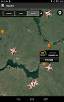 Screenshot of Airline Flight Status Tracking
