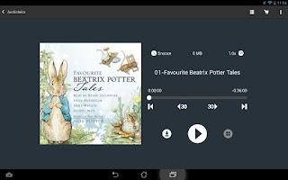 Screenshot of Audioteka