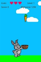 Screenshot of Carrot Catcher