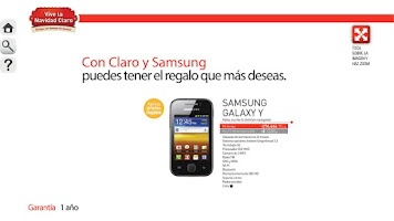 Screenshot of Revista Digital Claro