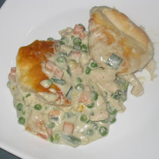 Low Fat Chicken Pot Pie