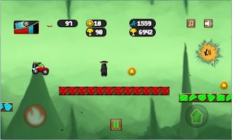 Screenshot of Turtle Leap