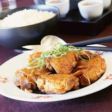 Rock Sugar Ginger Chicken (Bing Tong Gook Geung Gai)