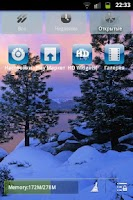 Screenshot of winter go EX theme