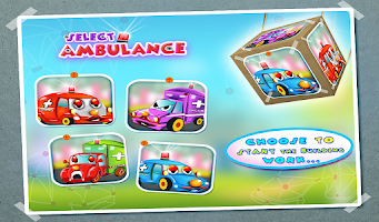 Screenshot of Ambulance Builder & Garage