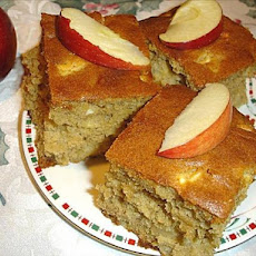 Apple and Ginger Squares