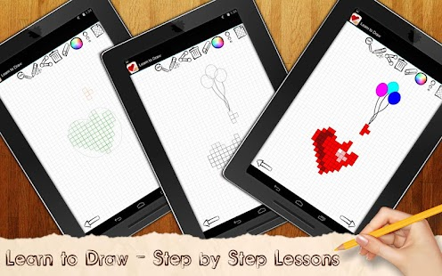 Learn to Draw Love Hearts - screenshot