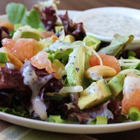Fried Goat Cheese Salad With Creamy Lemon Poppy Seed Dressing Recipes ...
