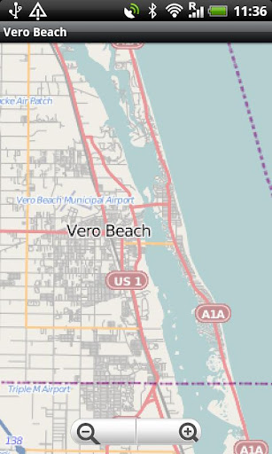 Vero Beach Street Map