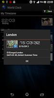 Screenshot of World Clock