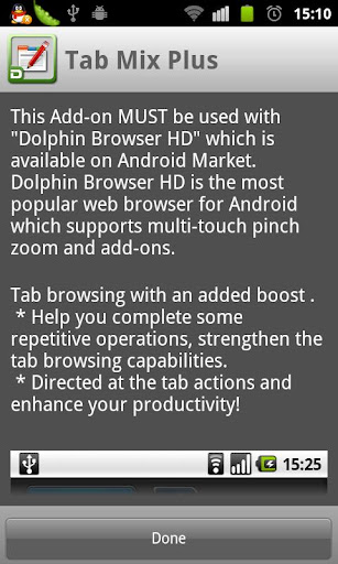 Dolphin Tab Mix Plus