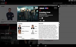 Screenshot of Télé 7 programme TV