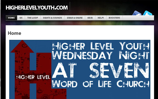 Higher Level Youth App