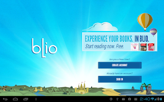 Screenshot of Blio eBooks