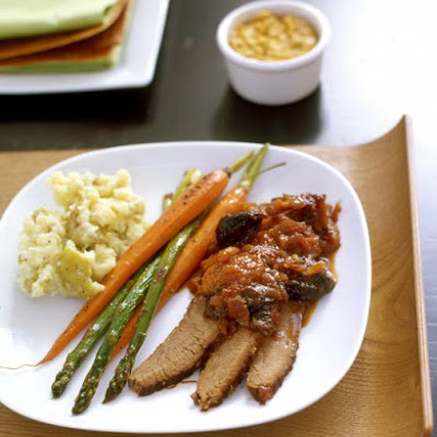 Brisket with Dried Fruits
