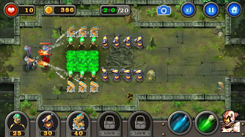 Screenshot of Robot Defense