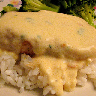 Pan Seared Chicken with Gouda Cream Sauce