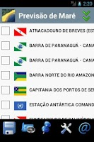 Screenshot of Tide Table Brasil
