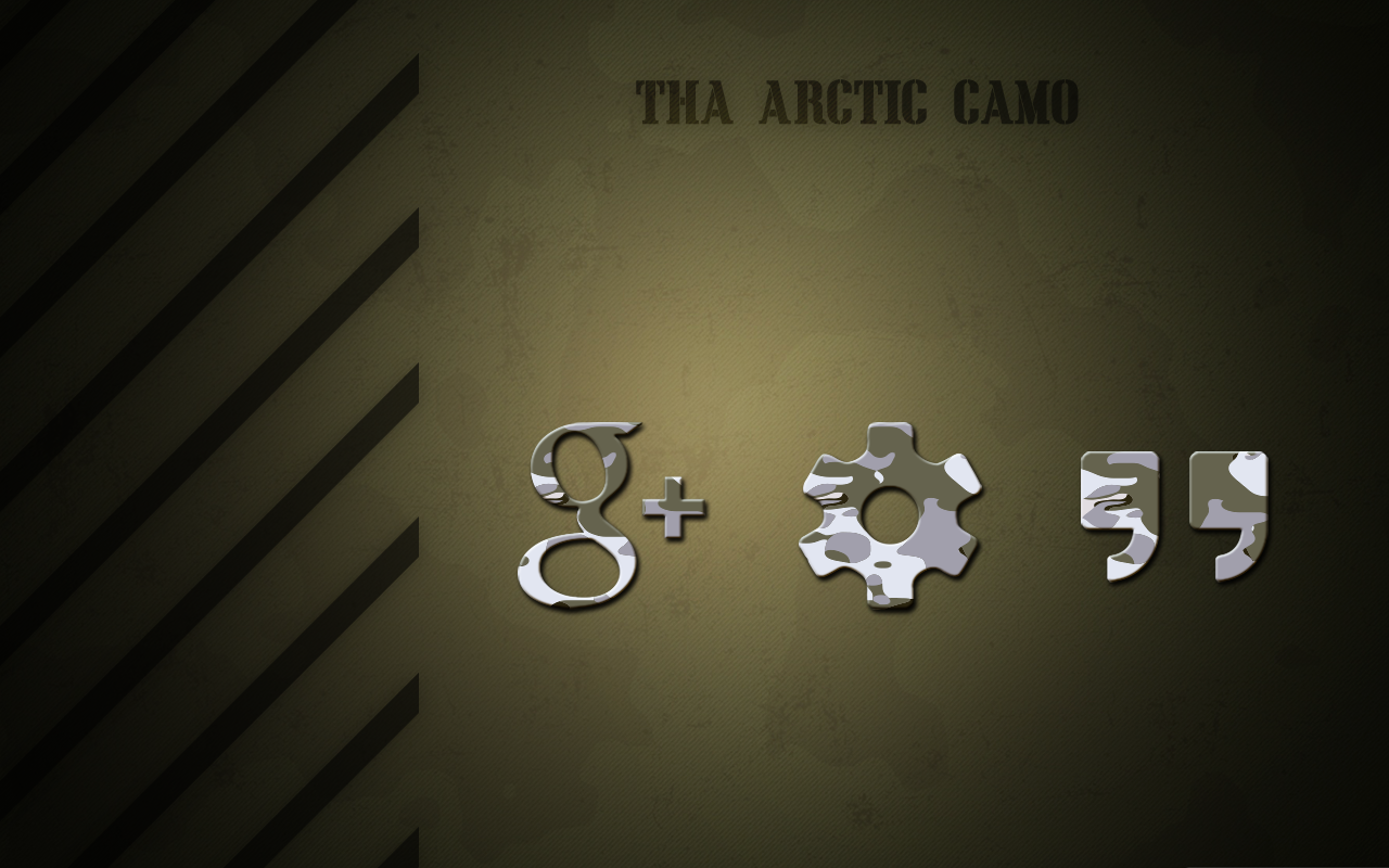 Tha Arctic Camo - Icon Pack Screenshot 2