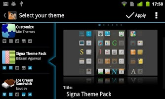 Screenshot of ADW.Launcher
