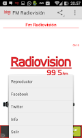Screenshot of FM Radiovision