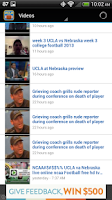Screenshot of UCLA Football