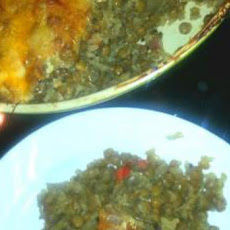 Brown Rice and Lentil Casserole