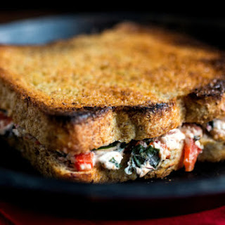 ... red peppers marinated roasted red pepper grilled cheese sandwich