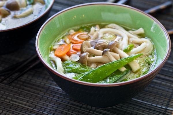Udon Miso Noodle Soup Recept | Yummly
