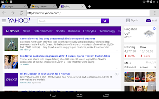 Screenshot of Web Browser & Explorer
