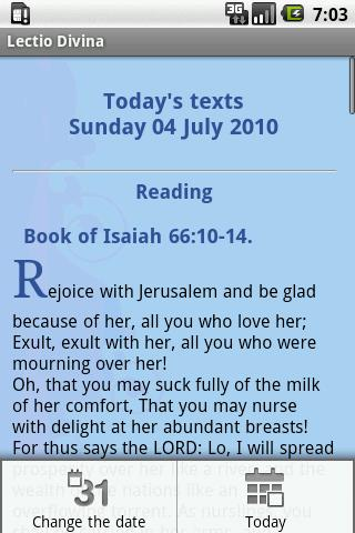 lectio-divina for android screenshot