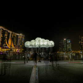 i Light Marina Bay by Mike S Candleghost - News & Events World Events ( mike s, i light marina bay, event, night, scenery, nikon, light, d3s )