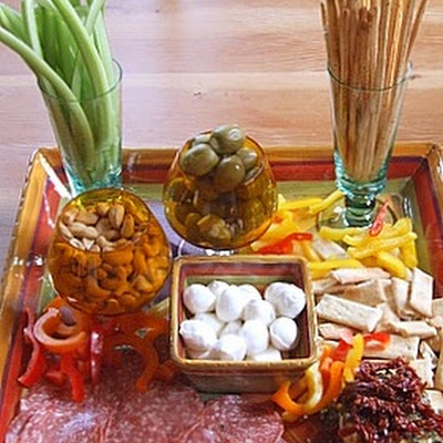 Quick and Easy Antipasto Platter