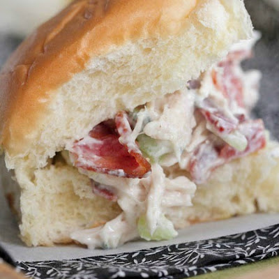 Bacon Gorgonzola Chicken Salad