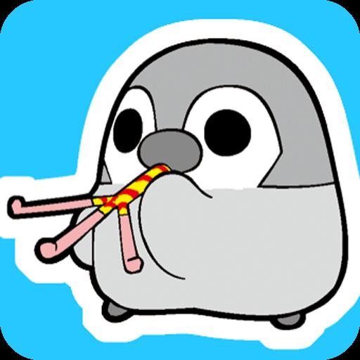 拼字のぺそぎんトーク完全版 人気の育成ゲーム風ペンギン待受けアプリ LOGO-記事Game