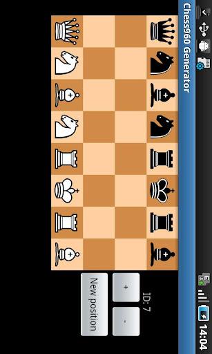 Chess 960 generator