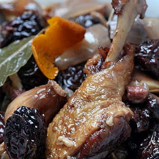 Duck with Prunes