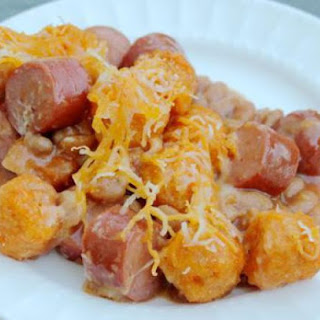 Hot Dog Tater Tot Casserole Recipes