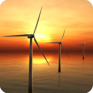 sunset windmill live wallpaper android apps on google play